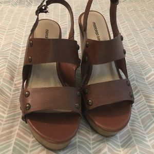 Montego Bay Club Shoes - Brown wedges